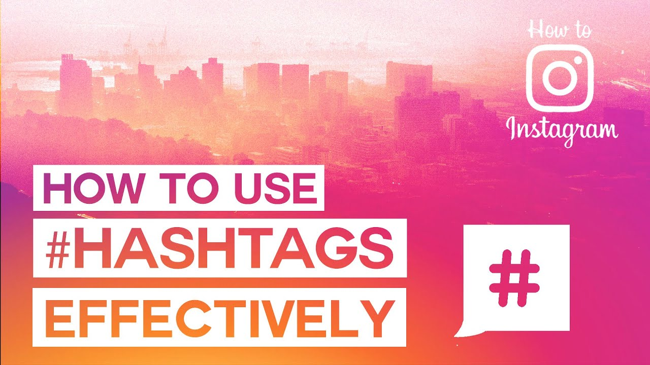Useful Hashtags List